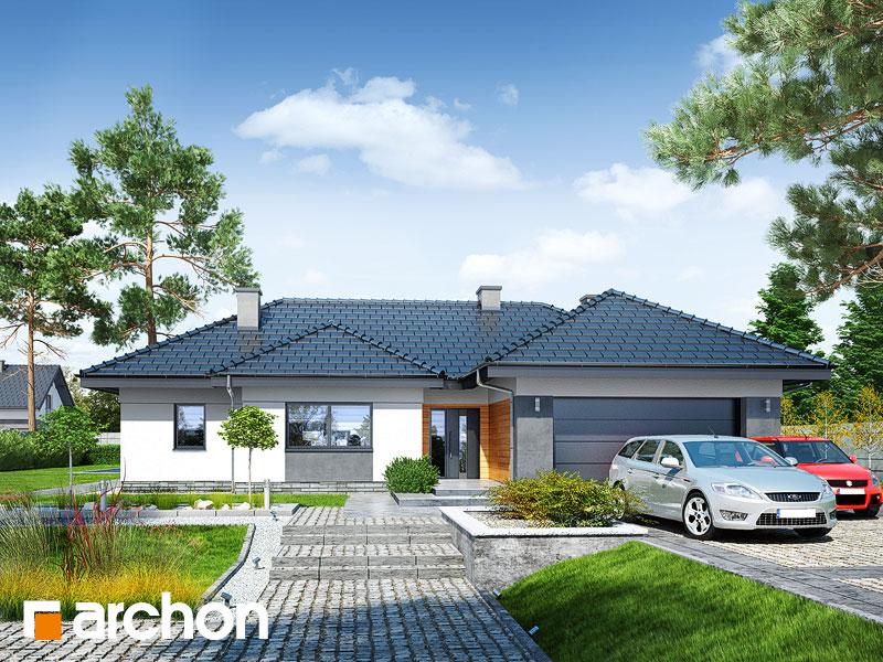 Проект дома ARCHON+ Дом в навлоциях (Г2) - Визуализация 1