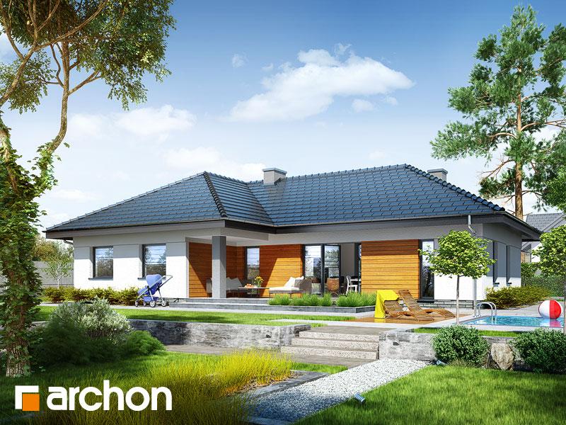 Проект дома ARCHON+ Дом в навлоциях (Г2) - Визуализация 2