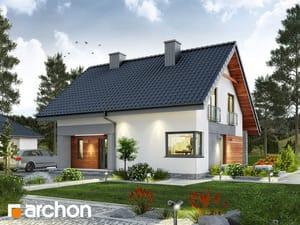 Проект дома ARCHON+ Дом в малиновках
