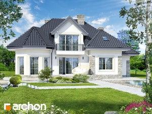 Проект дома ARCHON+ Дом в гибискусе ver.2