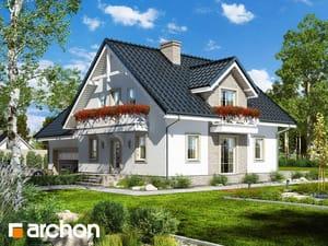 Проект дома ARCHON+ Дом в рододендронах 17 (Г2П)