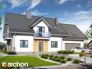 Проект дома ARCHON+ Дом в рододендронах 26 (Г2)