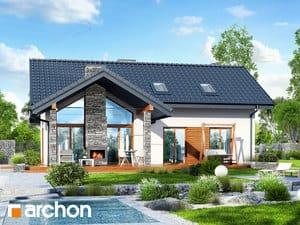 Проект дома ARCHON+ Дом в первоцветах (в)