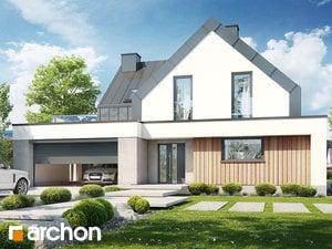 Проект дома ARCHON+ Дом в бирючинах (Г2)