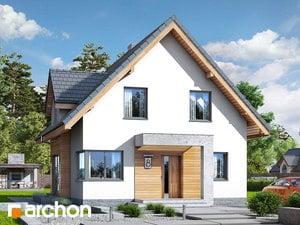Проект дома ARCHON+ Дом в медуницах (Н)