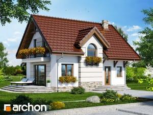 Проект дома ARCHON+ Дом в солодках 4 ver.2