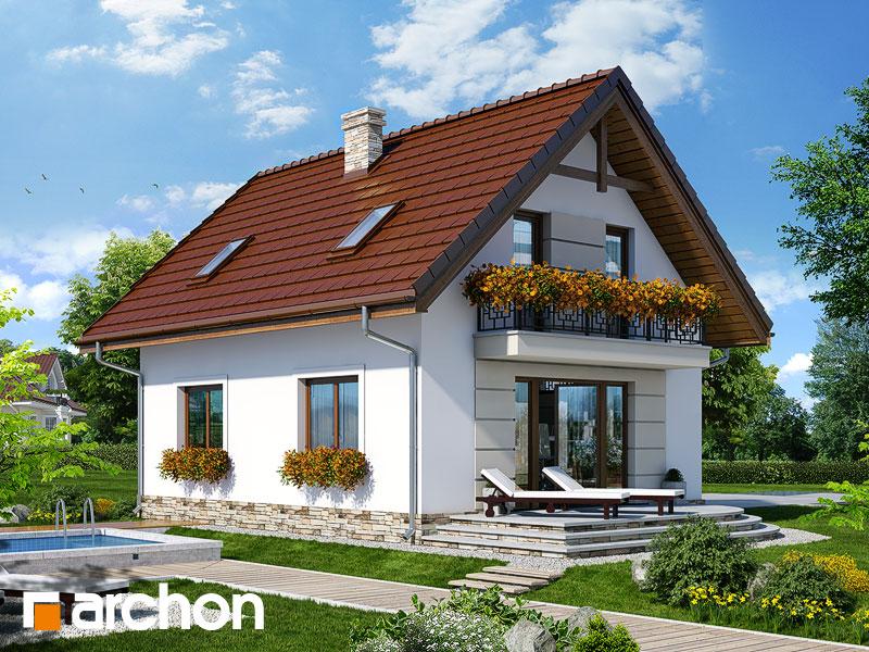 Проект дома ARCHON+ Дом в солодках 4 ver.2 - Визуализация 2