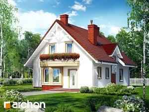 Проект дома ARCHON+ Дом под фисташковым деревом