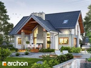 Проект дома ARCHON+ Дом в брунерах