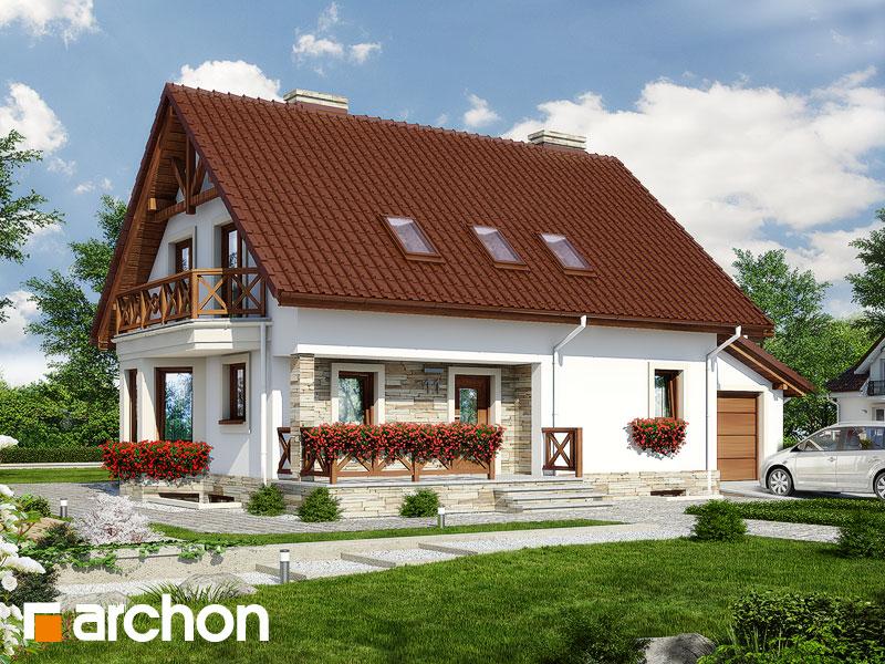 Проект дома ARCHON+ Дом в деванне 2 (П) ver.3 - Визуализация 1