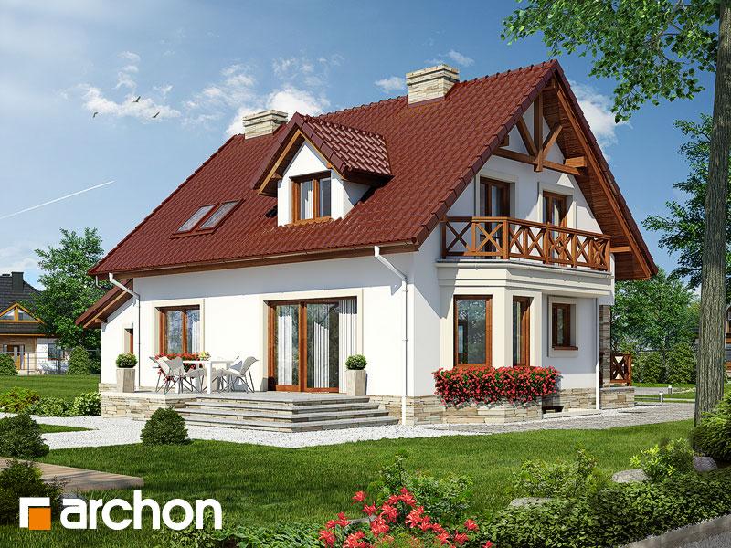 Проект дома ARCHON+ Дом в деванне 2 (П) ver.3 - Визуализация 2