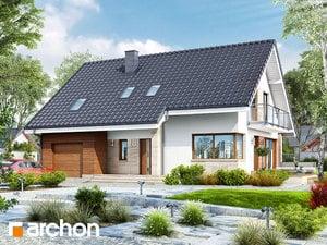 Проект дома ARCHON+ Дом в айдаредах (A)