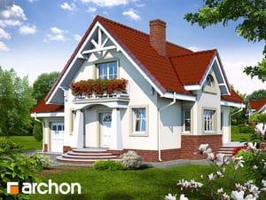 Проект дома ARCHON+ Дом в абрикосах