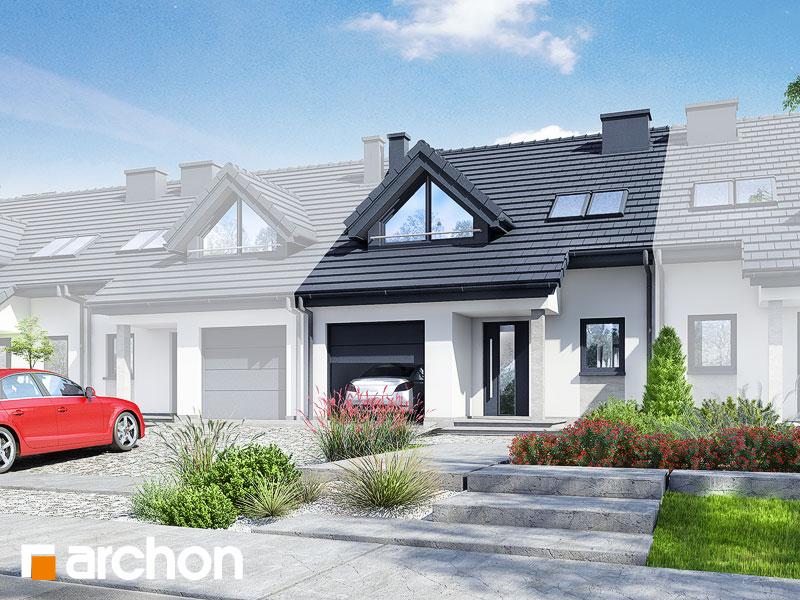 Проект дома ARCHON+  Дом в клематисах  ver.3 - Визуализация 1