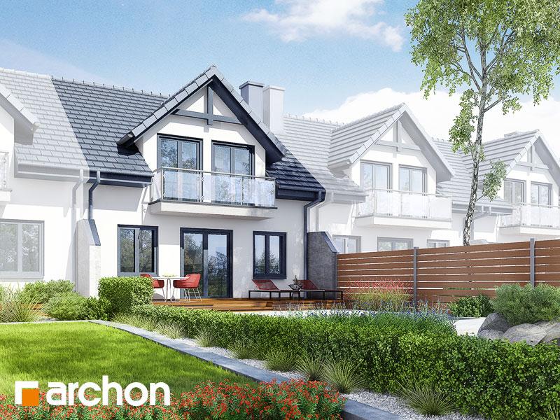 Проект дома ARCHON+ Дом в клематисах ver.3 - Визуализация 2