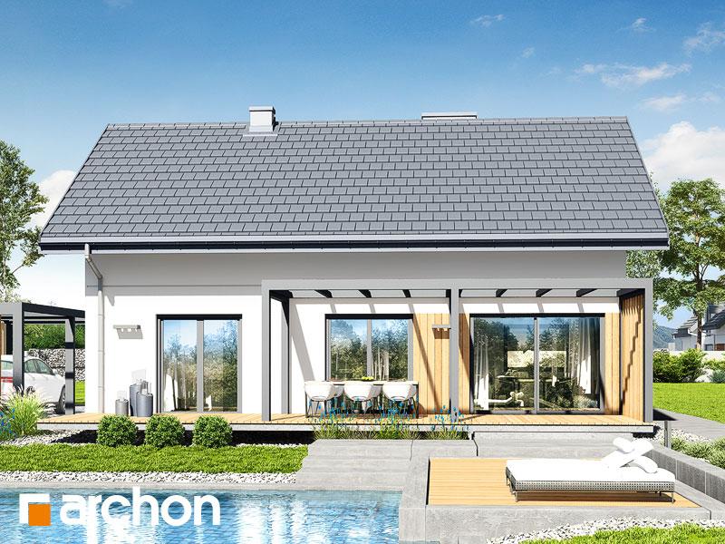 Проект дома ARCHON+ Дом под липкой 2 - Визуализация 2