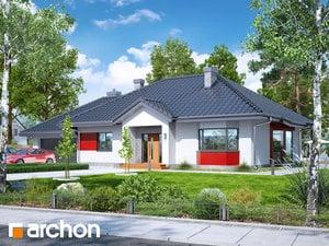 Проект дома ARCHON+  Дом в гаурах (Г2Н)