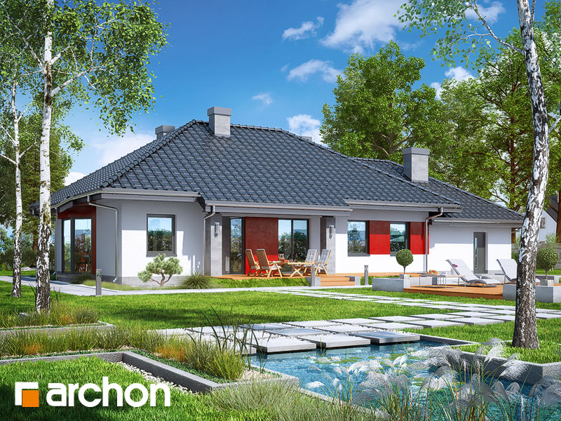 Дом в гаурах (Г2Н) - Визуализация 2