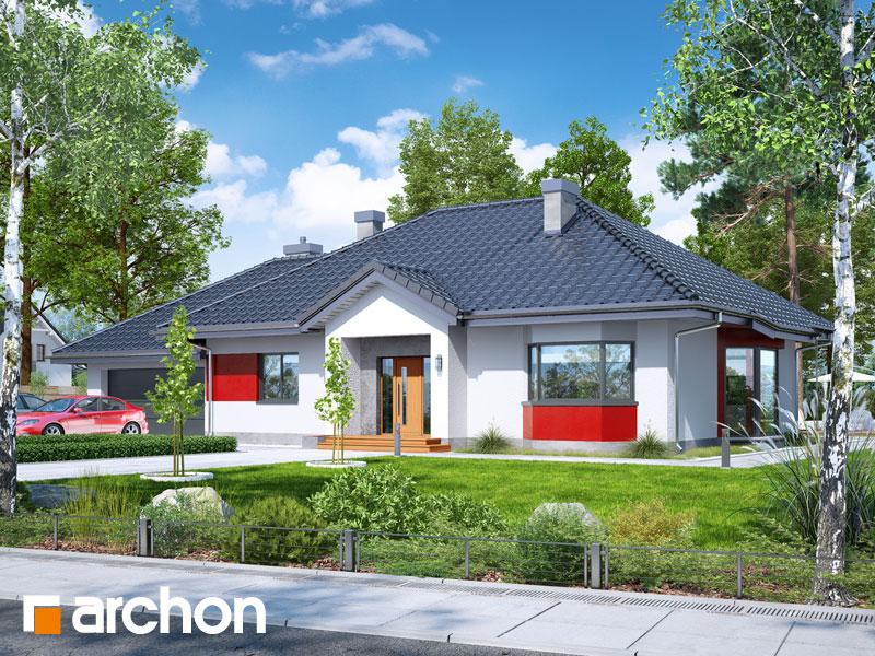 Проект дома ARCHON+  Дом в гаурах (Г2Н) - Визуализация 1