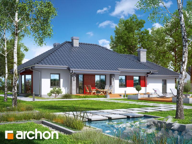Проект дома ARCHON+  Дом в гаурах (Г2Н) - Визуализация 2