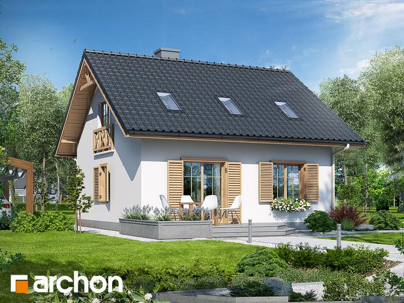 Проект дома ARCHON+ Дом миниатюрка (Т) - Визуализация 2
