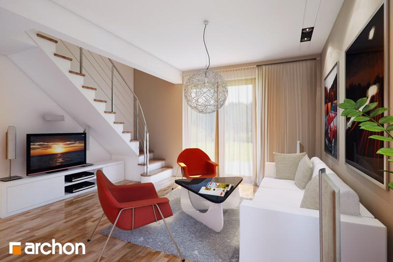 Проект дома ARCHON+ Дом миниатюрка (Т) - Интерьеры