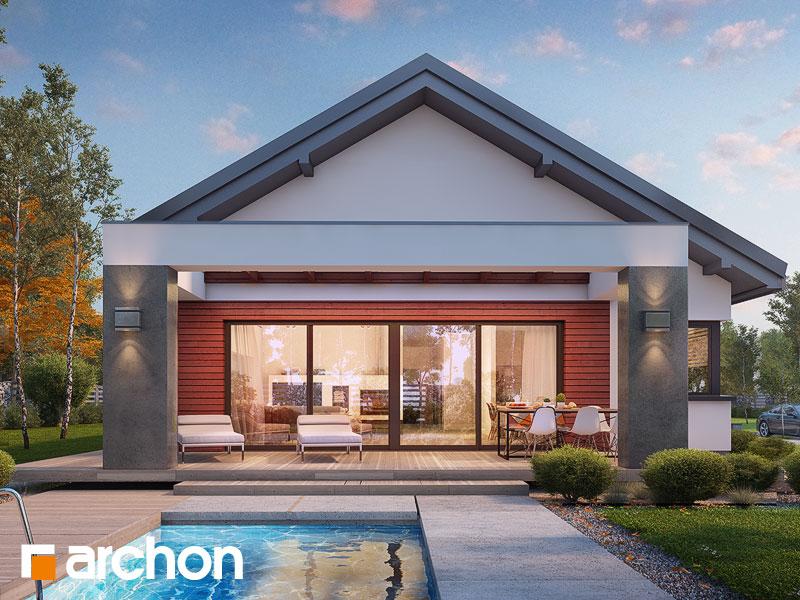 Проект дома ARCHON+ Дом в пеперомиях 4 - Визуализация 1