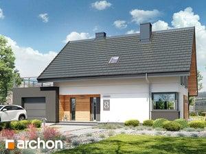 Проект дома ARCHON+ Дом в малиновках (Г)