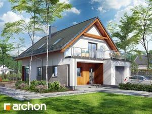 Проект дома ARCHON+ Дом под хикорой 2