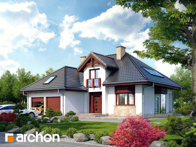Проект дома ARCHON+ Дом в каллатеях 2 ver.2 - Визуализация 1