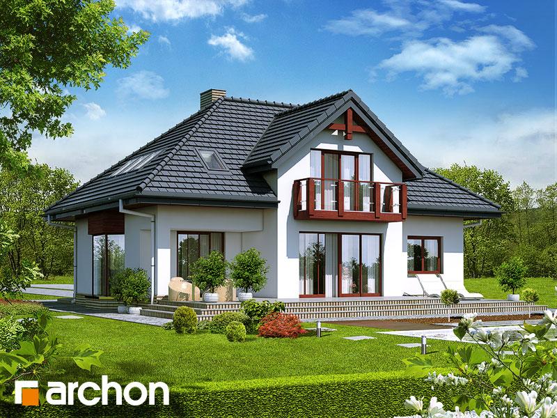 Проект дома ARCHON+ Дом в каллатеях 2 ver.2 - Визуализация 2
