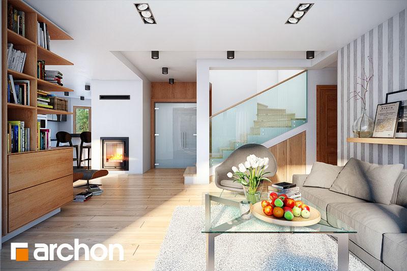 Проект дома ARCHON+ Дом в каллатеях 2 ver.2 - Интерьеры