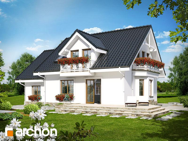 Проект дома ARCHON+ Дом в рододендронах 6 (П) - Визуализация 2