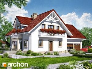 Проект дома ARCHON+ Дом в орегано ver. 2