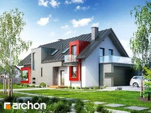 Проект дома ARCHON+ Дом в карри