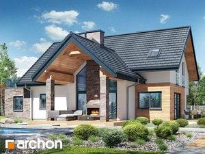 Проект дома ARCHON+ Дом в брунерах (Г2)