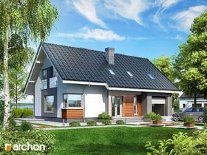 Проект дома ARCHON+ Дом в гейджее ver.2