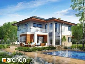 Проект дома ARCHON+ Вилла Оливия 2