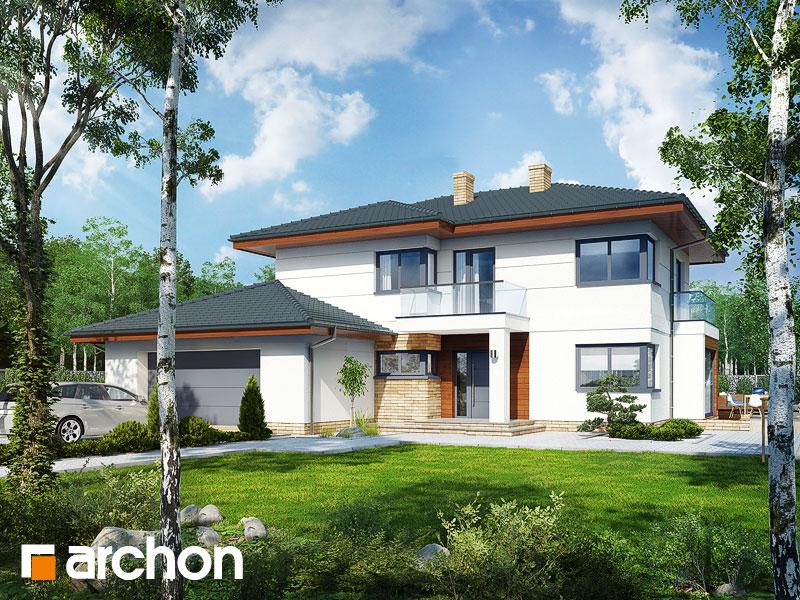 Проект дома ARCHON+ Вилла Оливия 2 - Визуализация 2